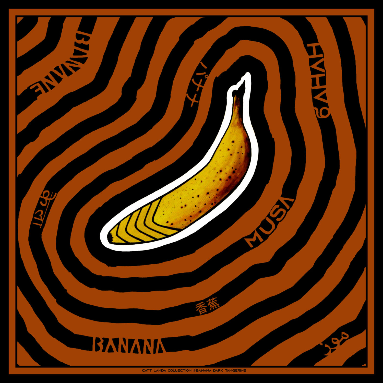 BANANA Dark Tangerine