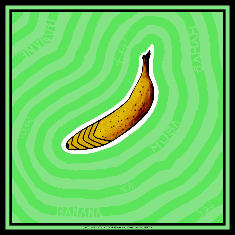 BANANA Medium Apple Green