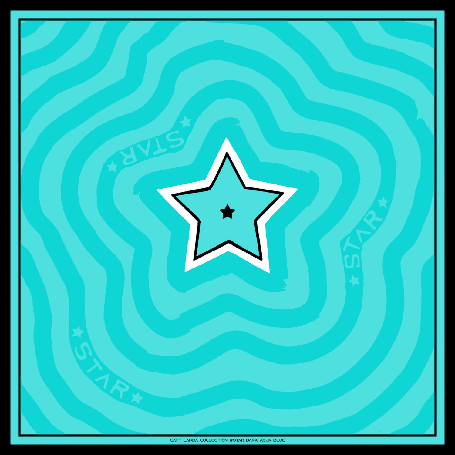 STAR Dark Aqua Blue