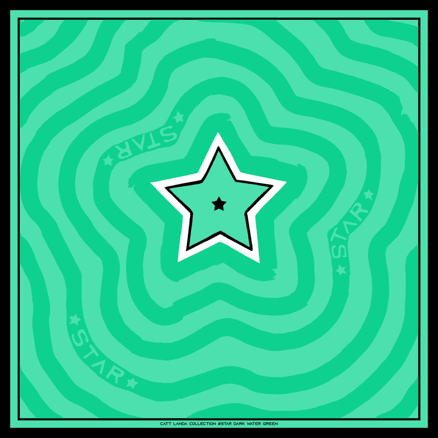 STAR Dark Water Green