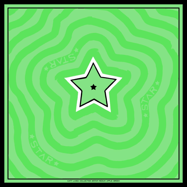 STAR Medium Apple Green