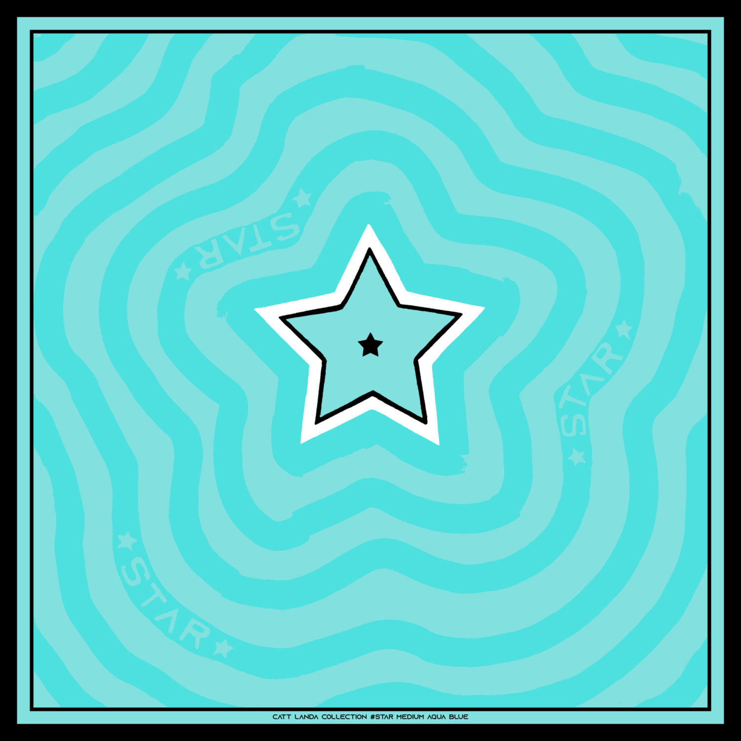 STAR Medium Aqua Blue