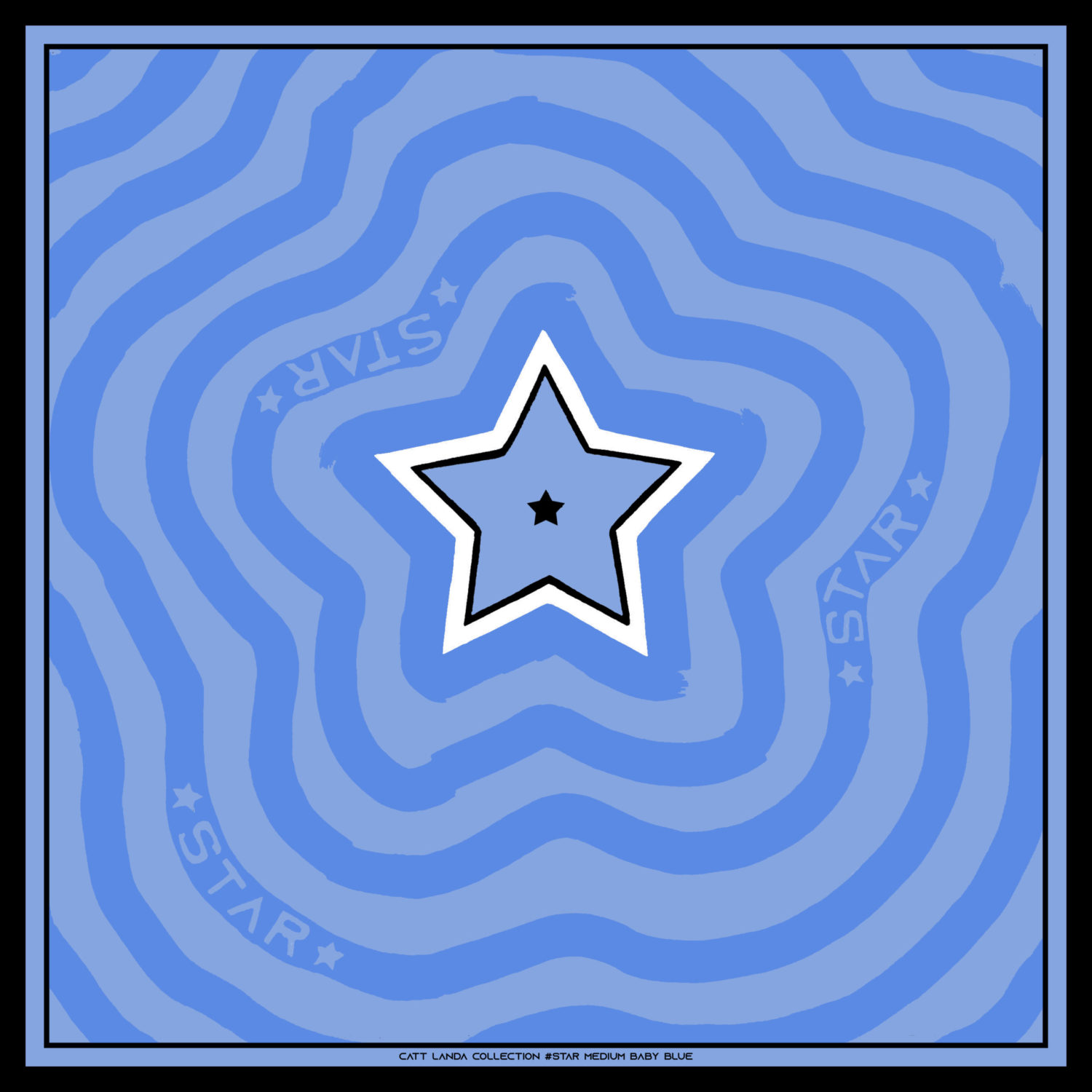 STAR Medium Baby Blue