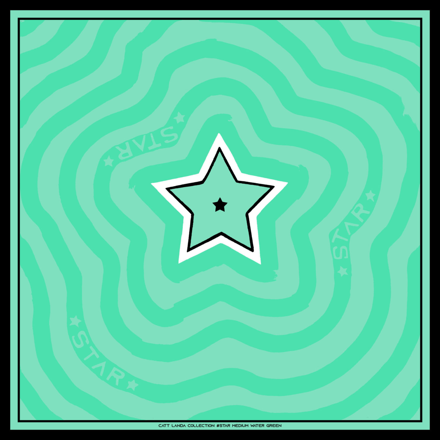 STAR Medium Water Green