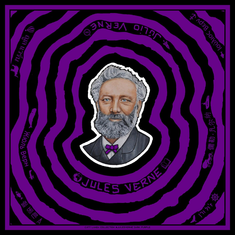 JULES VERNE Dark Purple
