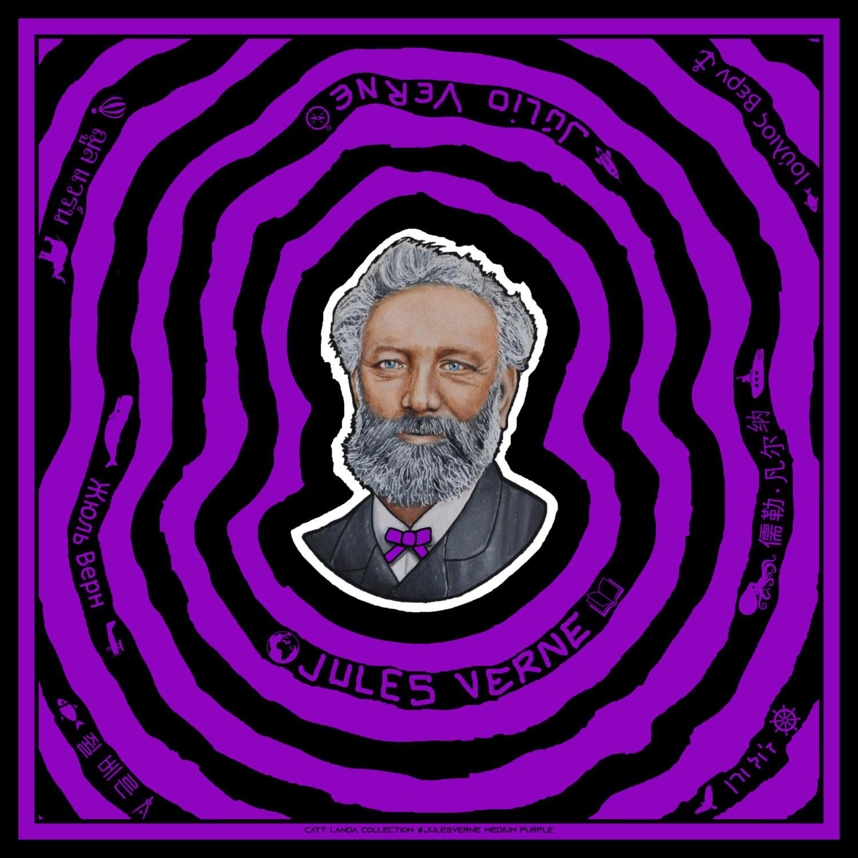 JULES VERNE Medium Purple